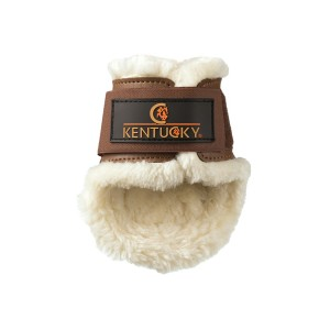 SHEEPSKIN LEATHER FETLOCK BOOTS KENTUCKY