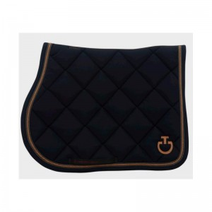 QUILTED ARGYLE CT JUMPING SADDLE PAD